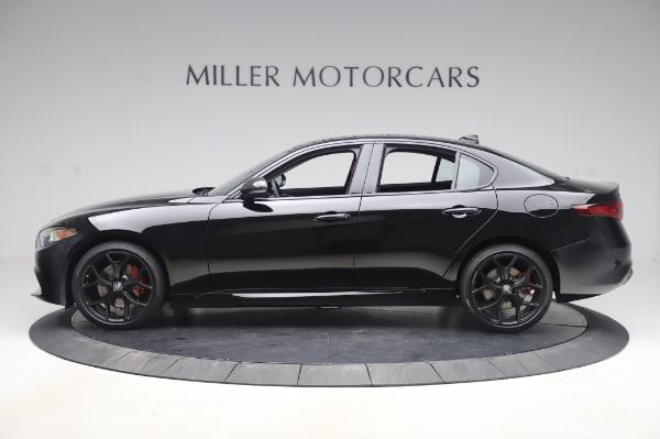 New 2020 Alfa Romeo Giulia Q4 for sale $48,445 at Bentley Greenwich in Greenwich CT 06830 3