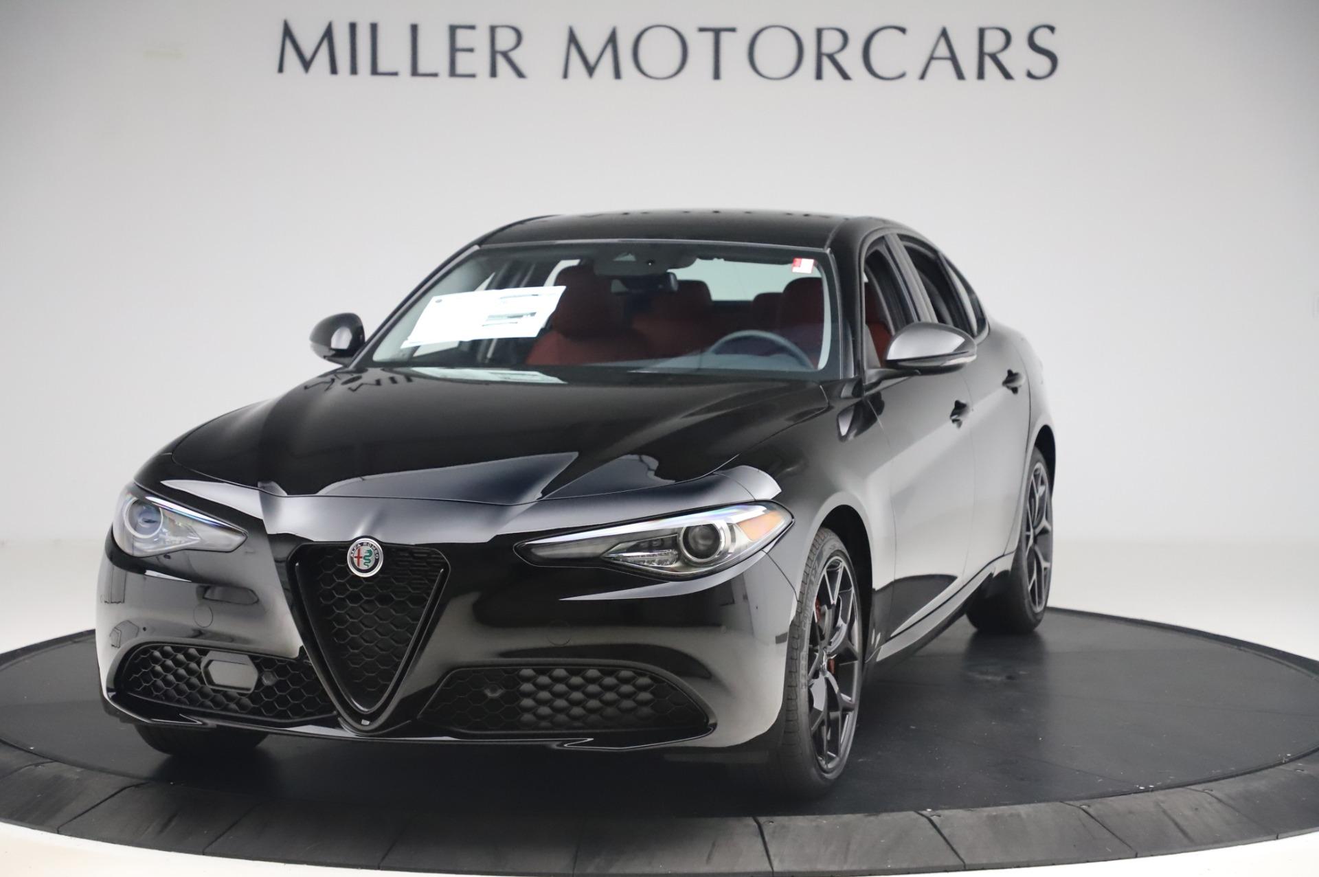New 2020 Alfa Romeo Giulia Q4 for sale $48,445 at Bentley Greenwich in Greenwich CT 06830 1