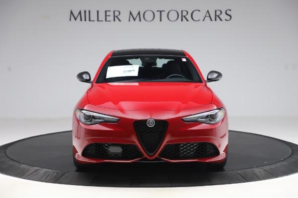 New 2020 Alfa Romeo Giulia Sport Q4 for sale $43,645 at Bentley Greenwich in Greenwich CT 06830 12
