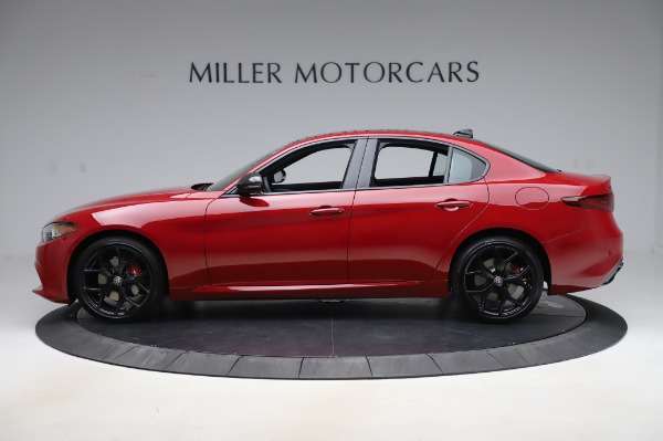 New 2020 Alfa Romeo Giulia Sport Q4 for sale Sold at Bentley Greenwich in Greenwich CT 06830 3