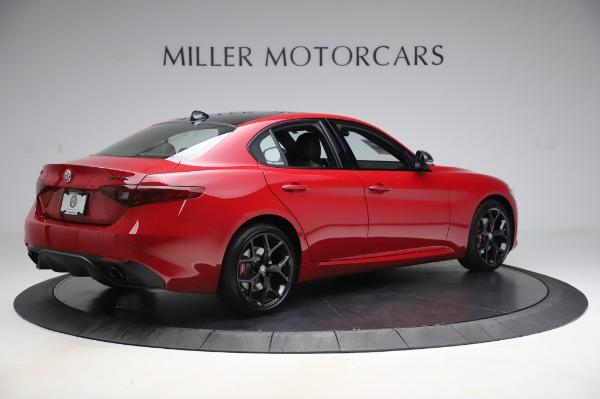 New 2020 Alfa Romeo Giulia Sport Q4 for sale $43,645 at Bentley Greenwich in Greenwich CT 06830 8