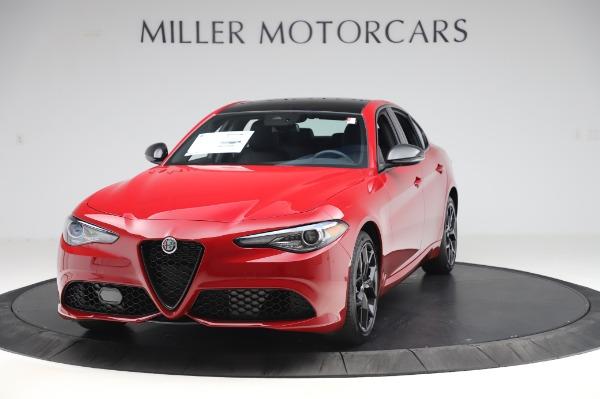 New 2020 Alfa Romeo Giulia Sport Q4 for sale Sold at Bentley Greenwich in Greenwich CT 06830 1