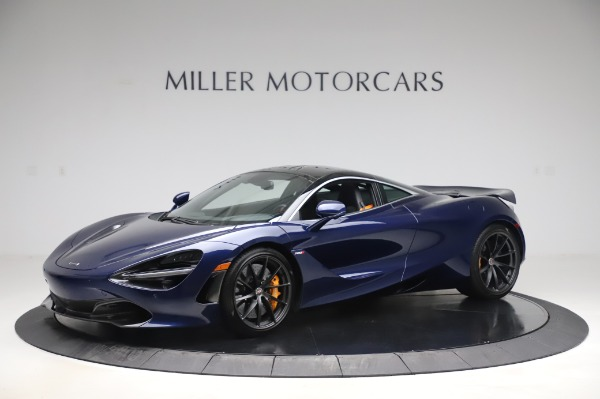 Used 2018 McLaren 720S Luxury for sale Call for price at Bentley Greenwich in Greenwich CT 06830 1