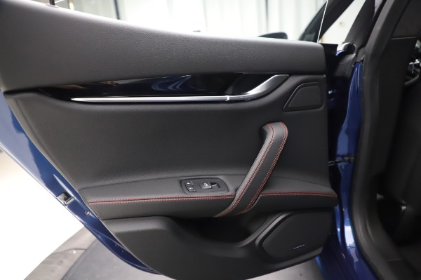 New 2020 Maserati Ghibli S Q4 GranSport for sale $94,935 at Bentley Greenwich in Greenwich CT 06830 21