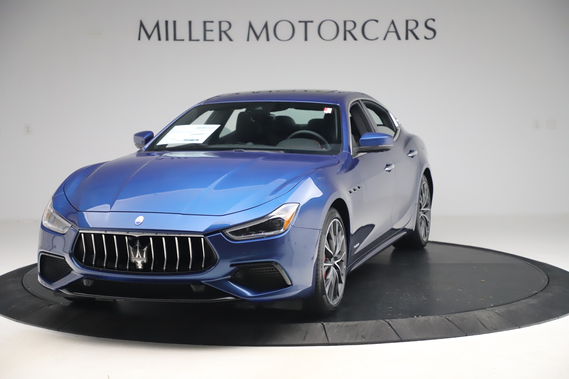 New 2020 Maserati Ghibli S Q4 GranSport for sale $94,935 at Bentley Greenwich in Greenwich CT 06830 1