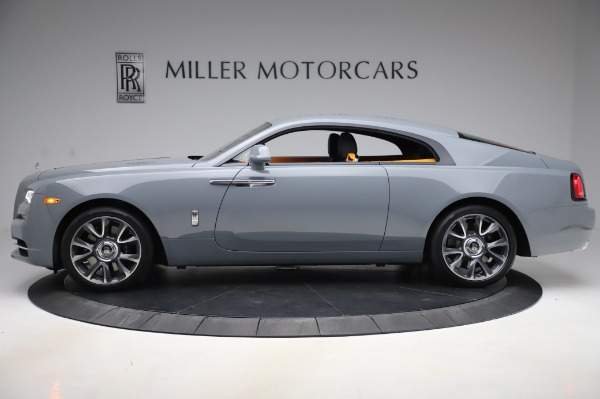 New 2020 Rolls-Royce Wraith for sale $405,625 at Bentley Greenwich in Greenwich CT 06830 3