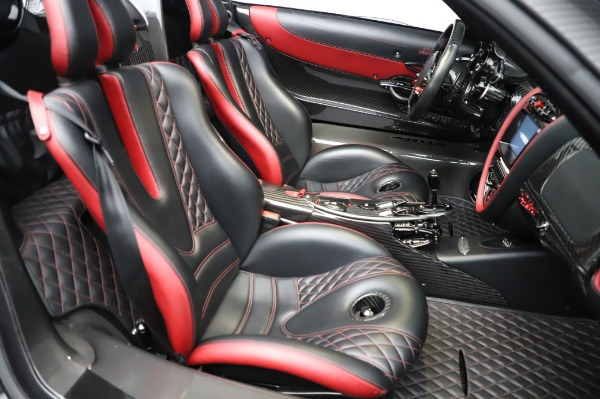 Used 2017 Pagani Huayra Roadster for sale Call for price at Bentley Greenwich in Greenwich CT 06830 28