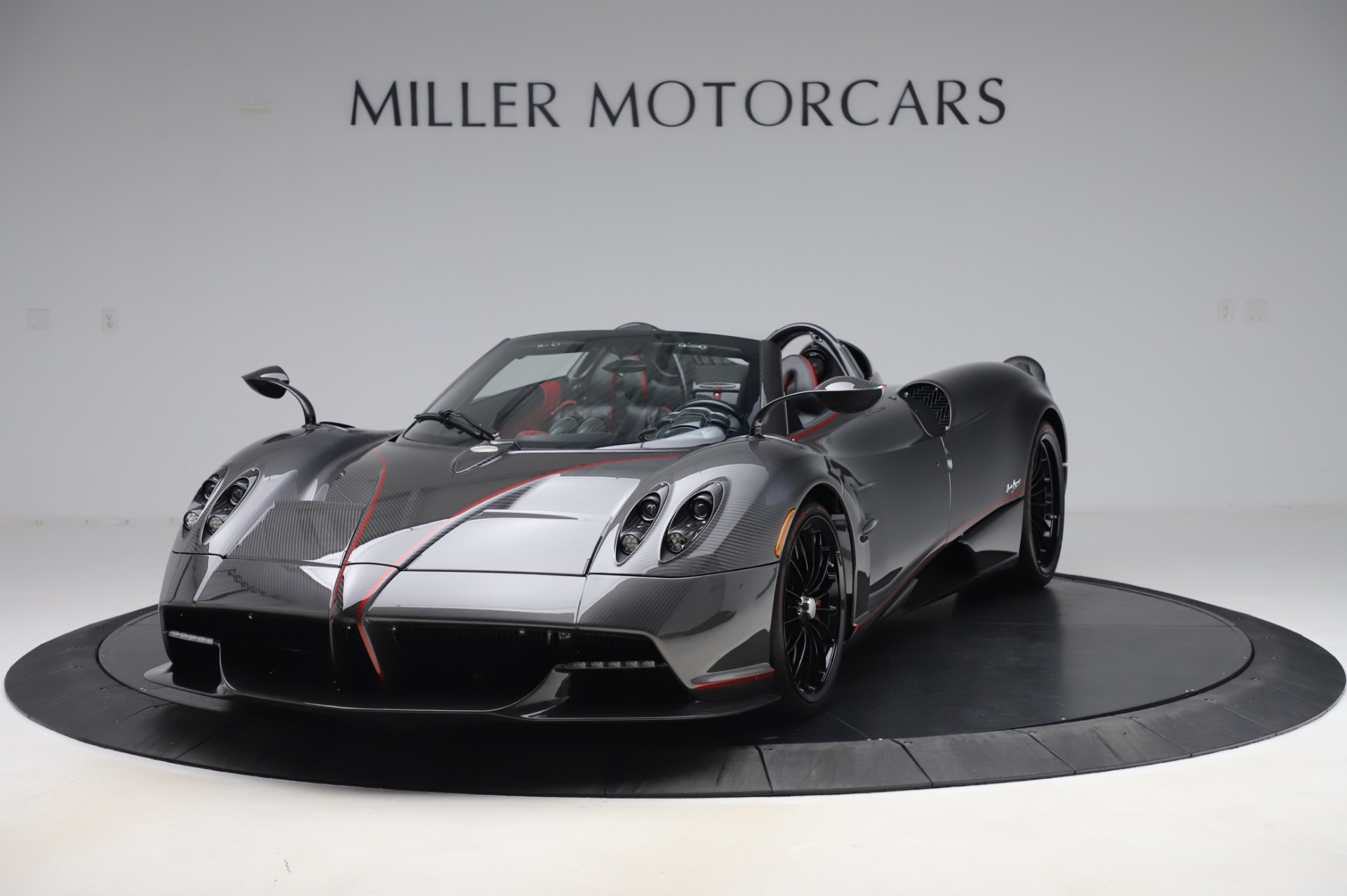Used 2017 Pagani Huayra Roadster for sale Call for price at Bentley Greenwich in Greenwich CT 06830 1