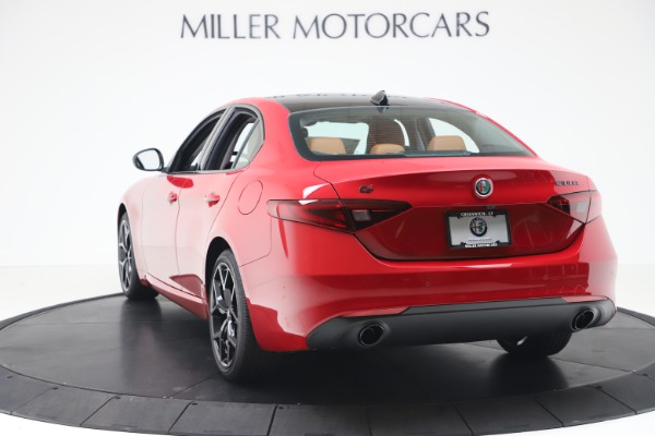 New 2020 Alfa Romeo Giulia Q4 for sale $47,245 at Bentley Greenwich in Greenwich CT 06830 5