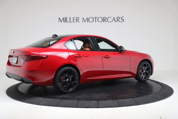 New 2020 Alfa Romeo Giulia Q4 for sale $47,245 at Bentley Greenwich in Greenwich CT 06830 8