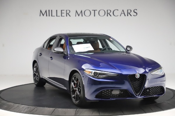 New 2020 Alfa Romeo Giulia Q4 for sale $47,845 at Bentley Greenwich in Greenwich CT 06830 10