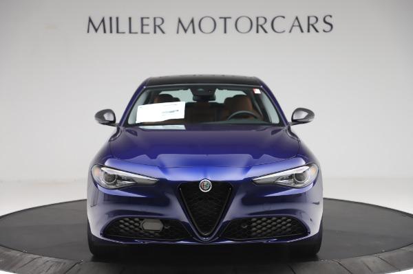 New 2020 Alfa Romeo Giulia Q4 for sale $42,845 at Bentley Greenwich in Greenwich CT 06830 11
