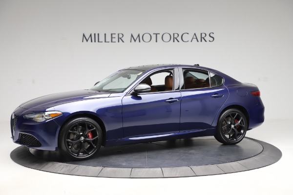 New 2020 Alfa Romeo Giulia Q4 for sale $47,845 at Bentley Greenwich in Greenwich CT 06830 2