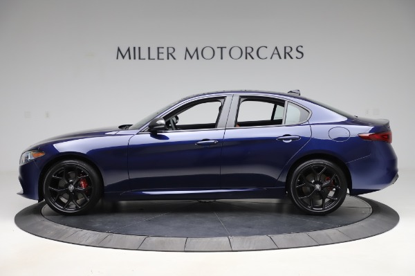 New 2020 Alfa Romeo Giulia Q4 for sale $47,845 at Bentley Greenwich in Greenwich CT 06830 3