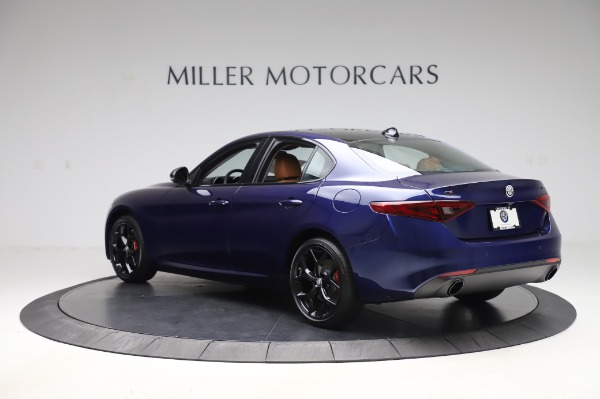 New 2020 Alfa Romeo Giulia Q4 for sale $47,845 at Bentley Greenwich in Greenwich CT 06830 4