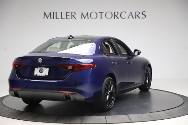 New 2020 Alfa Romeo Giulia Q4 for sale $42,845 at Bentley Greenwich in Greenwich CT 06830 6