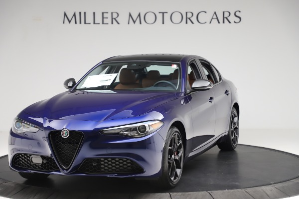New 2020 Alfa Romeo Giulia Q4 for sale $47,845 at Bentley Greenwich in Greenwich CT 06830 1