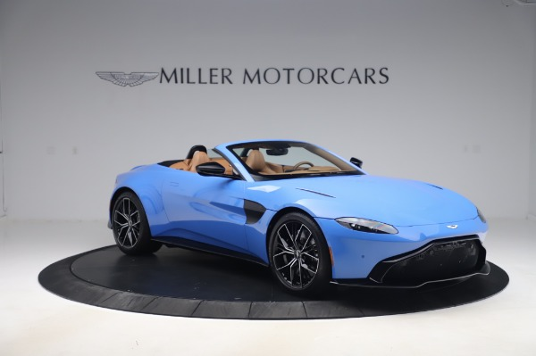 New 2021 Aston Martin Vantage Roadster for sale Call for price at Bentley Greenwich in Greenwich CT 06830 10