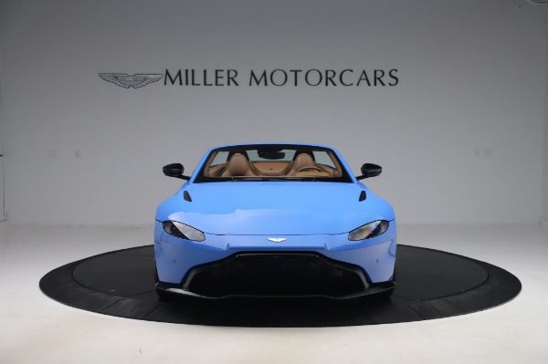 New 2021 Aston Martin Vantage Roadster for sale Call for price at Bentley Greenwich in Greenwich CT 06830 11