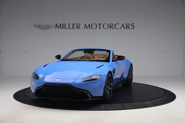 New 2021 Aston Martin Vantage Roadster for sale Call for price at Bentley Greenwich in Greenwich CT 06830 12