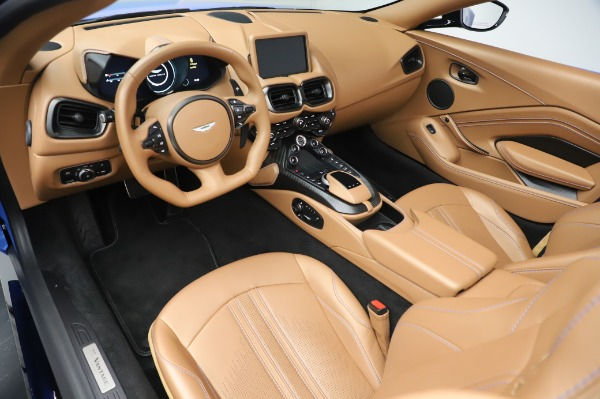 New 2021 Aston Martin Vantage Roadster for sale Call for price at Bentley Greenwich in Greenwich CT 06830 13