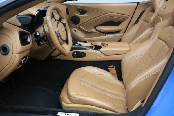 New 2021 Aston Martin Vantage Roadster for sale Call for price at Bentley Greenwich in Greenwich CT 06830 14