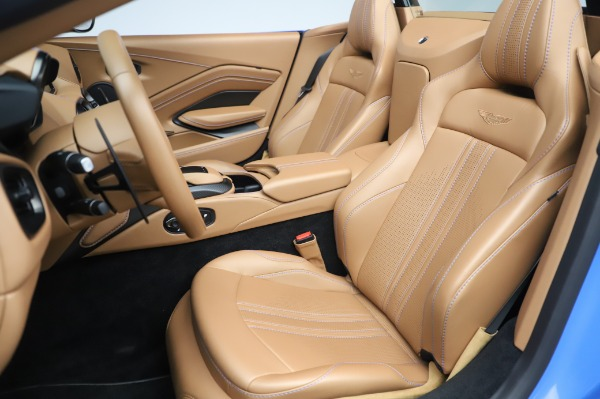 New 2021 Aston Martin Vantage Roadster for sale Call for price at Bentley Greenwich in Greenwich CT 06830 15