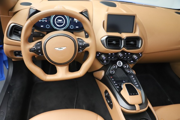 New 2021 Aston Martin Vantage Roadster for sale Call for price at Bentley Greenwich in Greenwich CT 06830 17