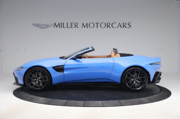 New 2021 Aston Martin Vantage Roadster for sale Call for price at Bentley Greenwich in Greenwich CT 06830 2