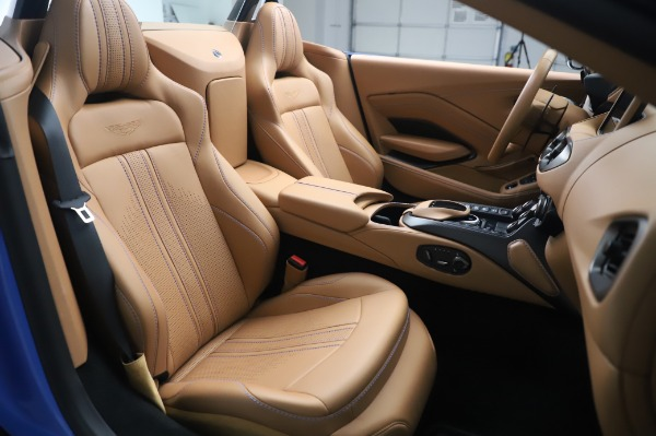 New 2021 Aston Martin Vantage Roadster for sale Call for price at Bentley Greenwich in Greenwich CT 06830 20