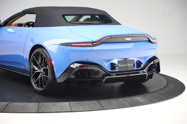 New 2021 Aston Martin Vantage Roadster for sale Call for price at Bentley Greenwich in Greenwich CT 06830 25