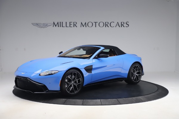 New 2021 Aston Martin Vantage Roadster for sale Call for price at Bentley Greenwich in Greenwich CT 06830 26