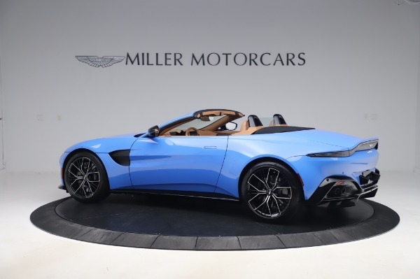 New 2021 Aston Martin Vantage Roadster for sale Call for price at Bentley Greenwich in Greenwich CT 06830 3