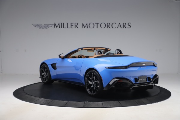 New 2021 Aston Martin Vantage Roadster for sale Call for price at Bentley Greenwich in Greenwich CT 06830 4