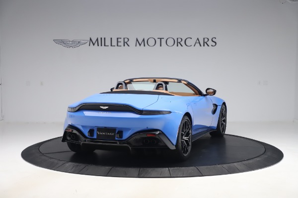 New 2021 Aston Martin Vantage Roadster for sale Call for price at Bentley Greenwich in Greenwich CT 06830 6