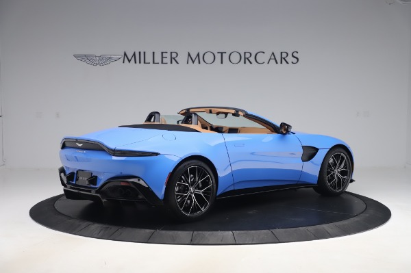 New 2021 Aston Martin Vantage Roadster for sale Call for price at Bentley Greenwich in Greenwich CT 06830 7