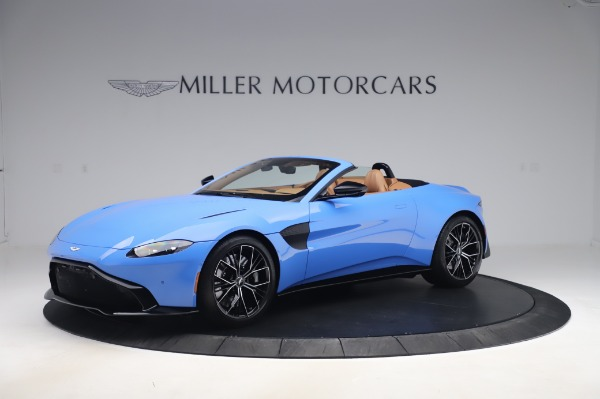 New 2021 Aston Martin Vantage Roadster for sale Call for price at Bentley Greenwich in Greenwich CT 06830 1