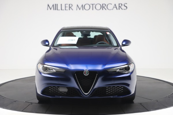 New 2020 Alfa Romeo Giulia Q4 for sale $45,445 at Bentley Greenwich in Greenwich CT 06830 12