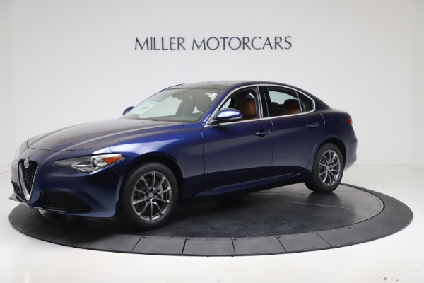 New 2020 Alfa Romeo Giulia Q4 for sale $45,445 at Bentley Greenwich in Greenwich CT 06830 2