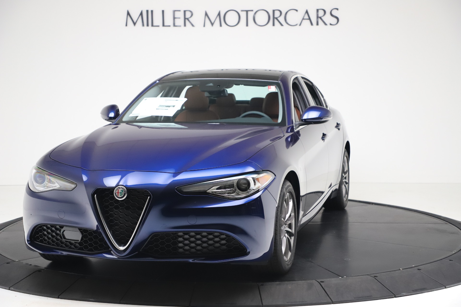 New 2020 Alfa Romeo Giulia Q4 for sale $45,445 at Bentley Greenwich in Greenwich CT 06830 1