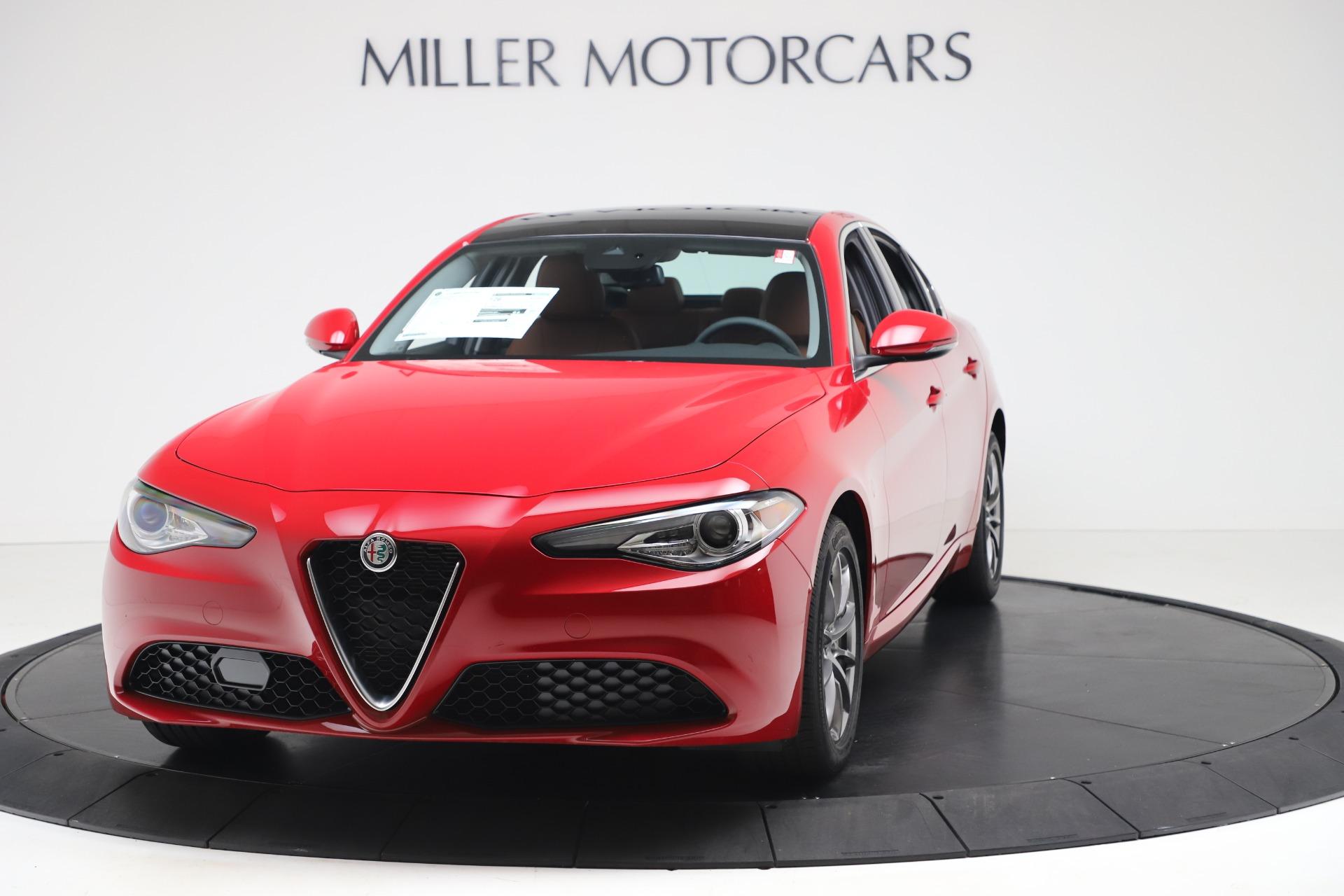 New 2020 Alfa Romeo Giulia Q4 for sale $44,845 at Bentley Greenwich in Greenwich CT 06830 1