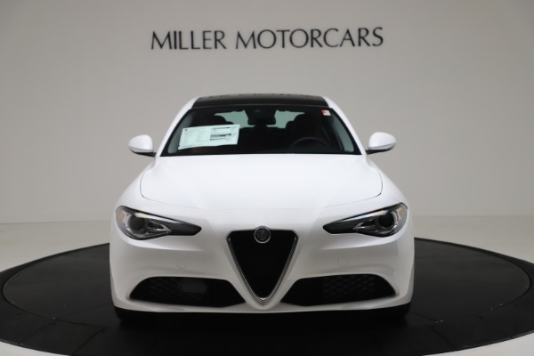 New 2020 Alfa Romeo Giulia Q4 for sale $44,845 at Bentley Greenwich in Greenwich CT 06830 12