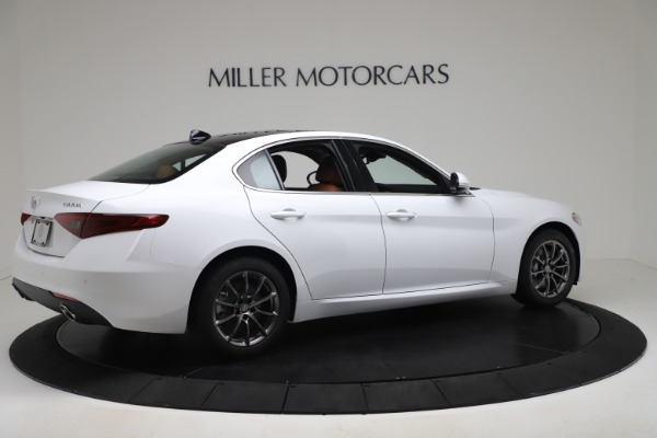 New 2020 Alfa Romeo Giulia Q4 for sale $44,845 at Bentley Greenwich in Greenwich CT 06830 8