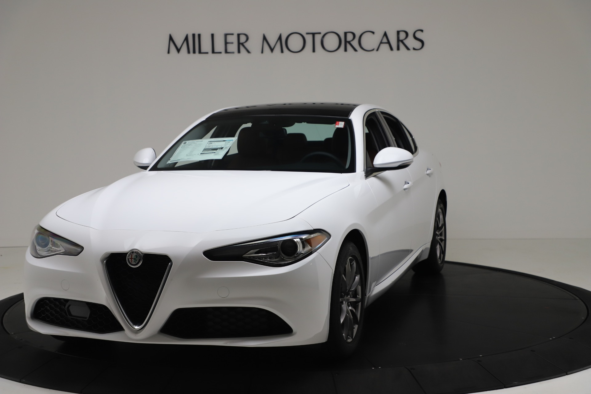 New 2020 Alfa Romeo Giulia Q4 for sale $44,845 at Bentley Greenwich in Greenwich CT 06830 1