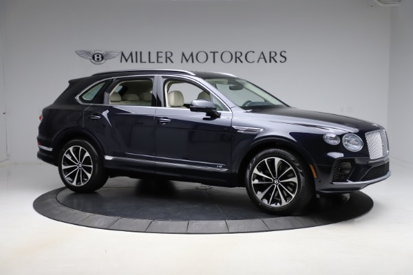 New 2021 Bentley Bentayga V8 for sale $205,540 at Bentley Greenwich in Greenwich CT 06830 10