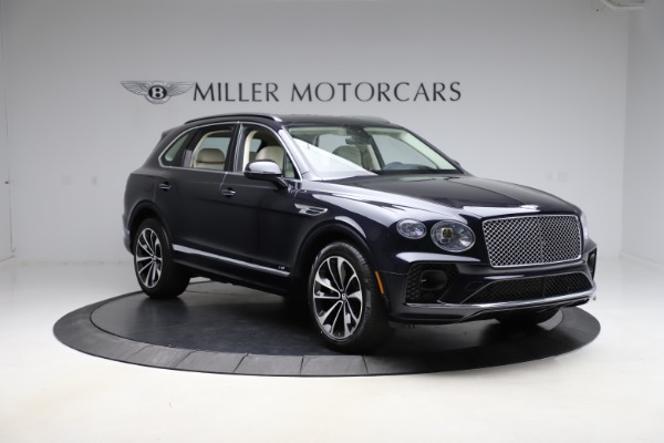 New 2021 Bentley Bentayga V8 for sale $205,540 at Bentley Greenwich in Greenwich CT 06830 11