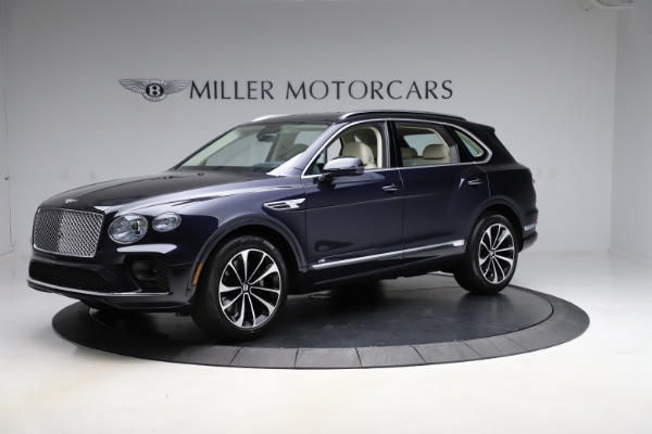 New 2021 Bentley Bentayga V8 for sale $204,100 at Bentley Greenwich in Greenwich CT 06830 2