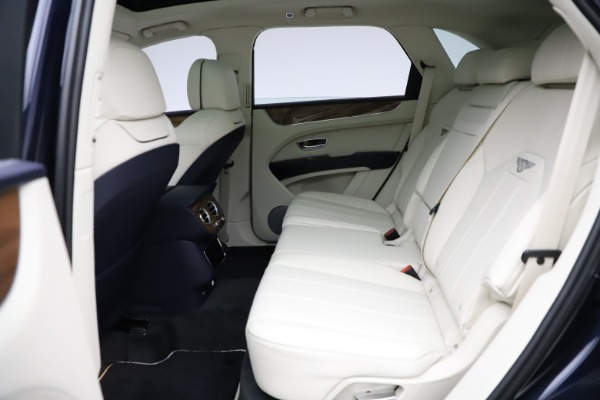 New 2021 Bentley Bentayga V8 for sale $205,540 at Bentley Greenwich in Greenwich CT 06830 24