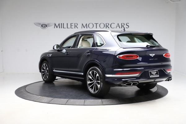 New 2021 Bentley Bentayga V8 for sale $205,540 at Bentley Greenwich in Greenwich CT 06830 5