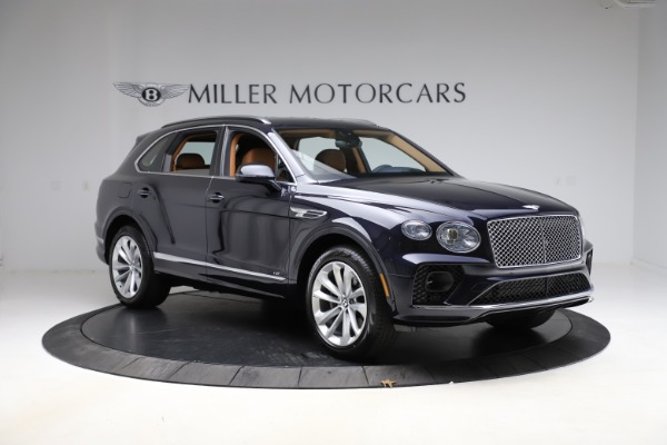 New 2021 Bentley Bentayga V8 for sale $203,205 at Bentley Greenwich in Greenwich CT 06830 11